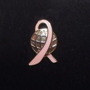 Breast Cancer Awareness World-Pink Ribbon Pin